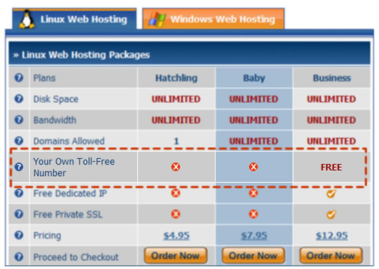 Hostgator new business hosting plan