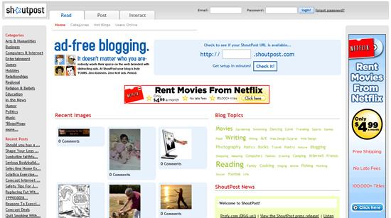 23个必须看的免费博客平台-第15张图片-小蜜蜂主机博客