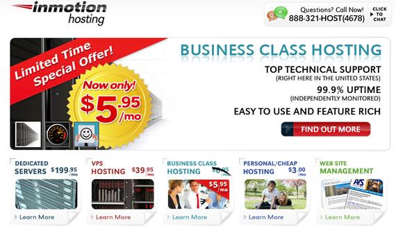 InMotion Hosting Promotion