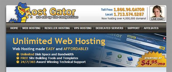 Hostgator Web Hosting Services
