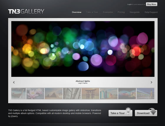 TN3 Gallery - jQuery Plugin and Tools