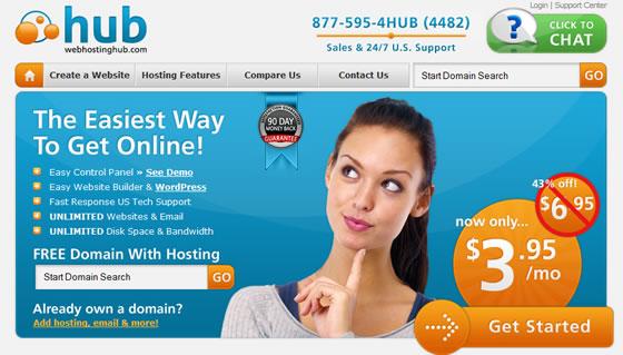 WebHostingHub Promotion
