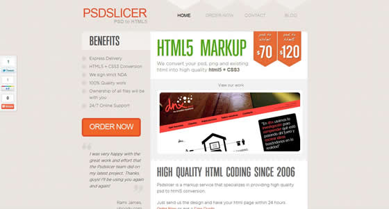 Sample of CSS3