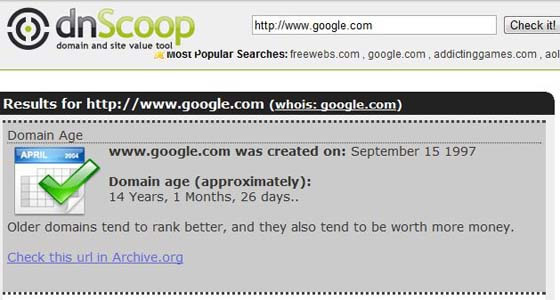 dnScoop screenshot