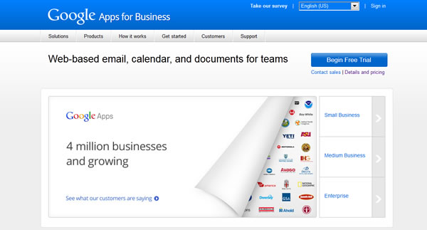 Google Email Apps