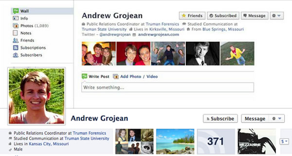 Andrew Grojean Screenshot