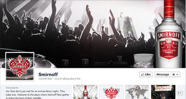 Smirnoff Screenshot