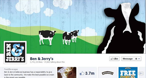Ben & Jerry Screenshot