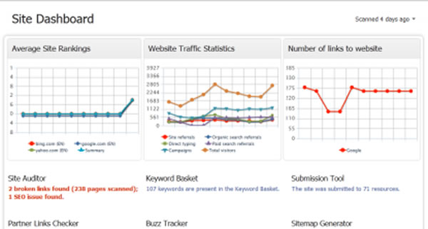 WebSEO Screenshot