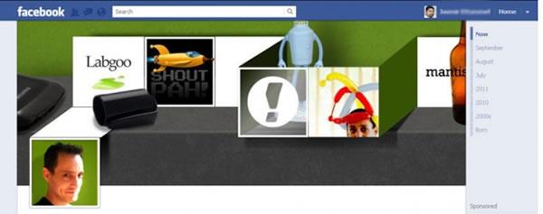 Oś czasu na Facebooku