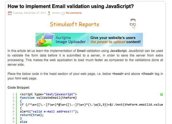JavaScript Tutorials Roundup