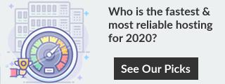 Porównaj najlepszy hosting w 2020 roku.