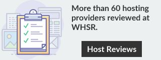 WHSR Web Hosting Resensies.