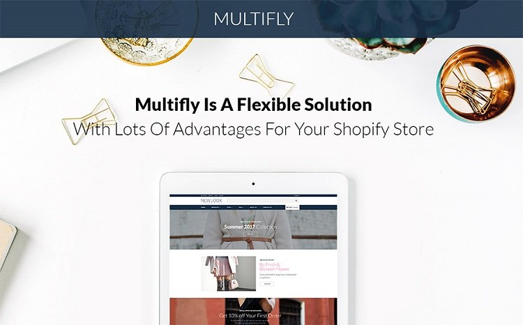 Multifly - Shopify Template Design