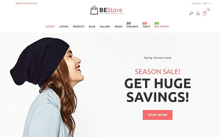 BeStore - Shopify Theme Design that helps conversion
