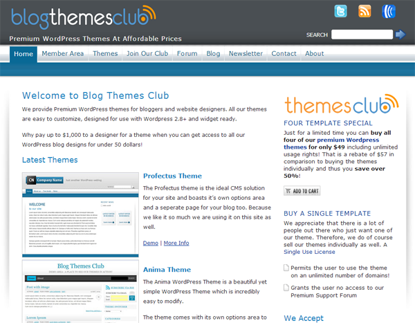 Blog Temas Club