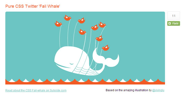 Animated Failed Whale
