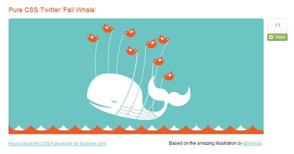 Animated Failed Whale