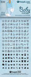Baby Icons by FreePik