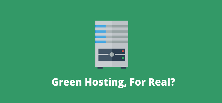green hosting for real?