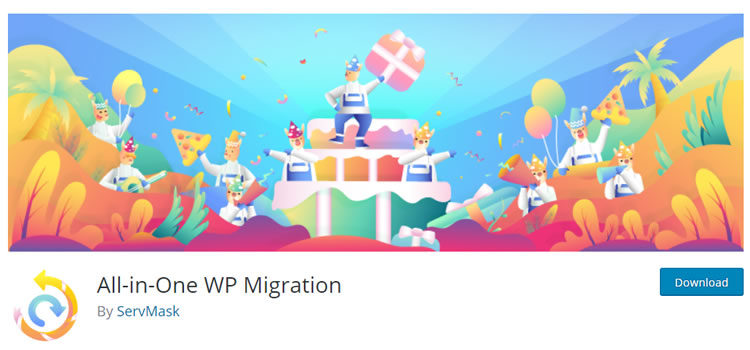 plug-in voor wordpress migrator