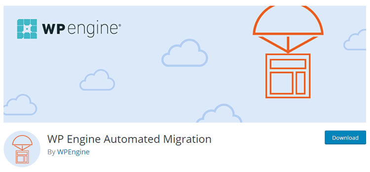 plugin de migration wpengine