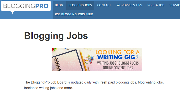 Bloggingpro task board