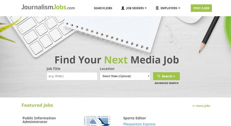 Journalismus-Jobs