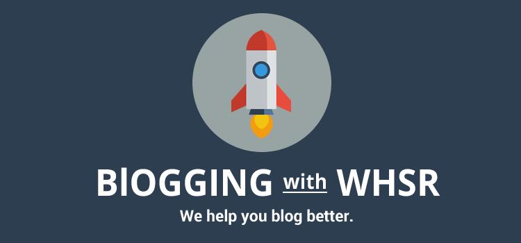 Blog besser mit WHSR