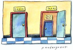 kematian dan pajak
