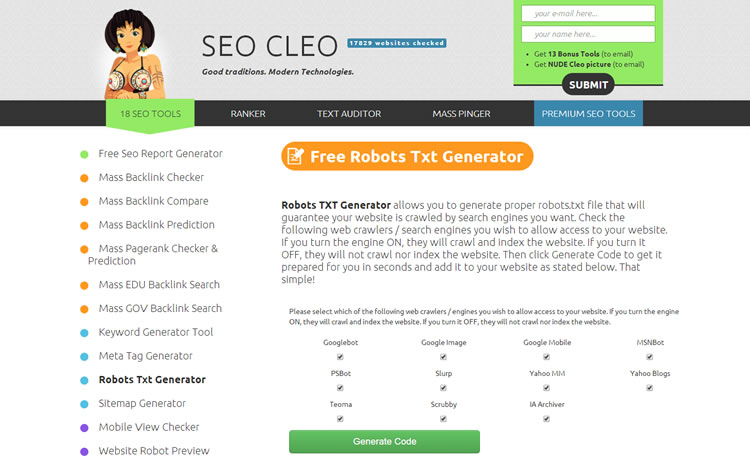 SEO Cleo - click to visit online.