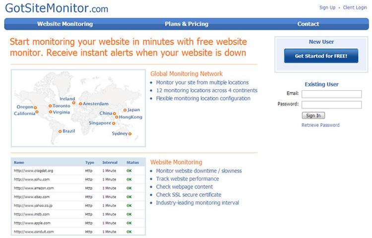 Got Site Monitor