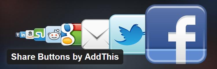 addthis wordpress plugin