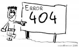 Hitilafu ya 404