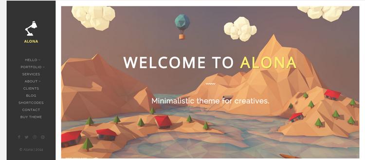 Alona- Temas minimalistas de WordPress
