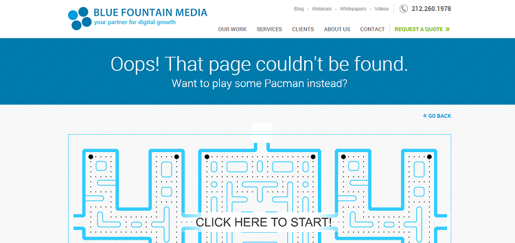 blue fountain media 404