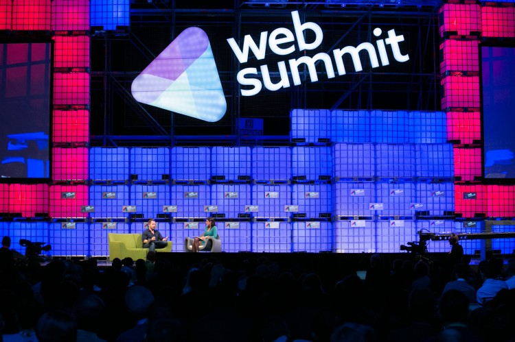 Web Summit 2014  - 主要階段