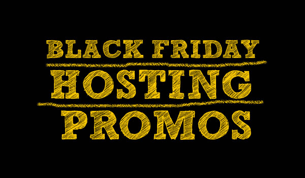 Black Friday and Cyber Monday promo