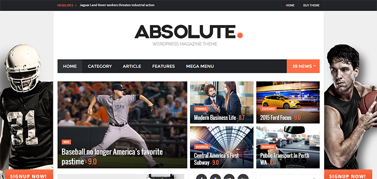 Absolute – WordPress Magazine Theme   Just another WordPress site