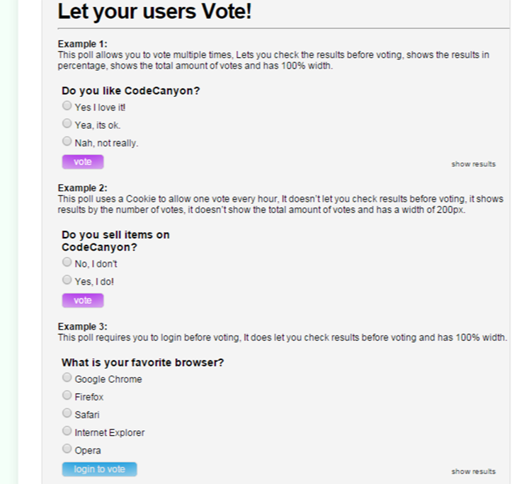 WP PRO Poll System - Let your users vote!   WP Plugins   De beste WordPress Plugins van Belgie