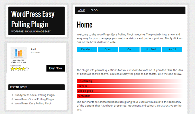WordPress Easy Polling Plugin   WordPress Polling made easy