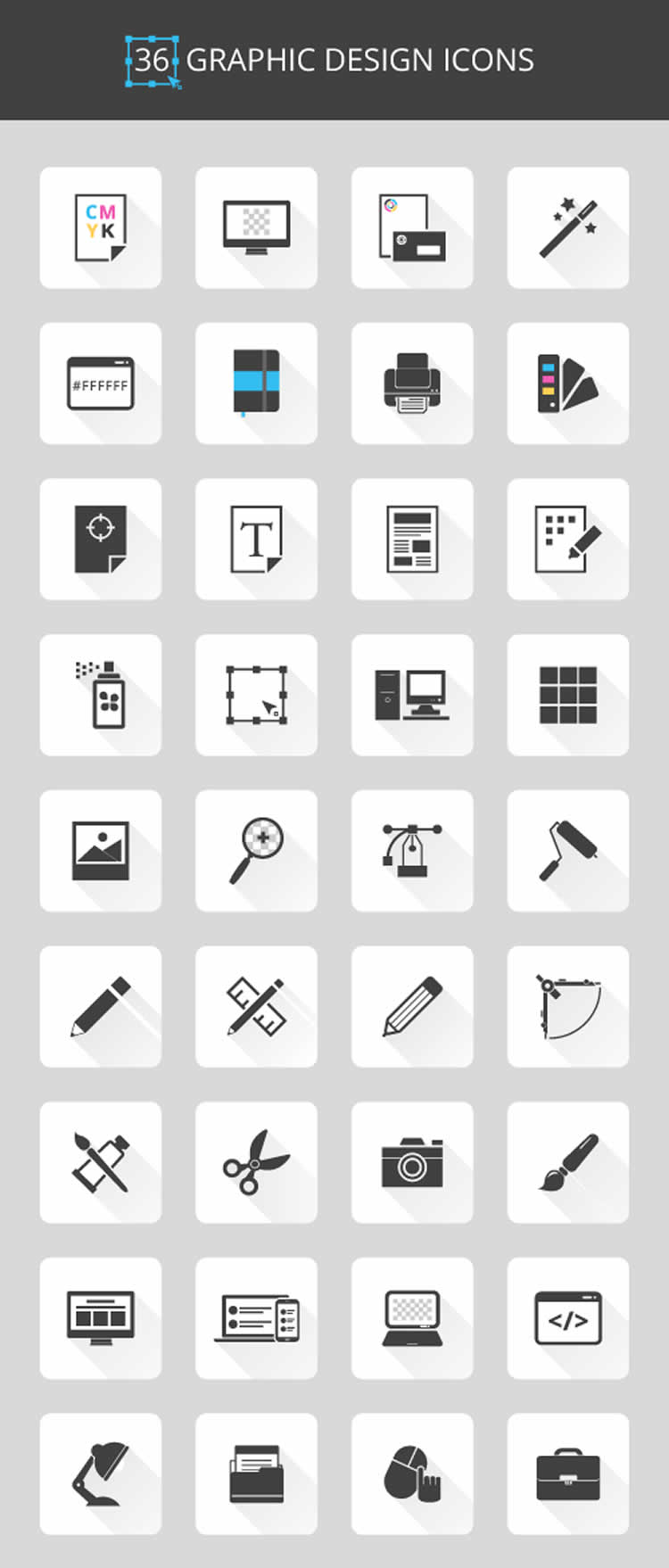 Grafik-Design-Icon-Set