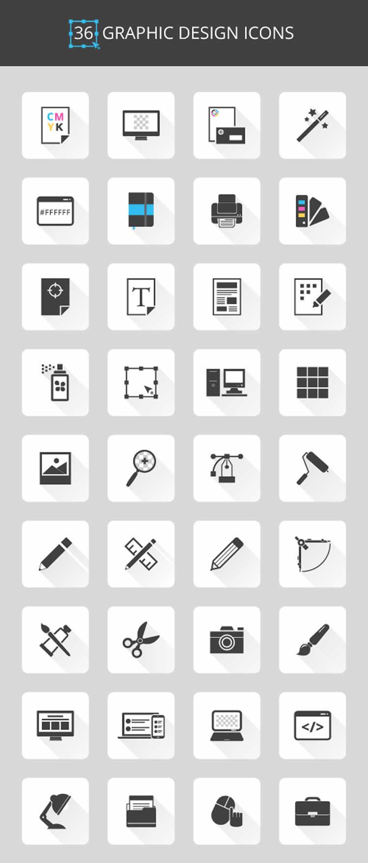 graphic-design-icon-set