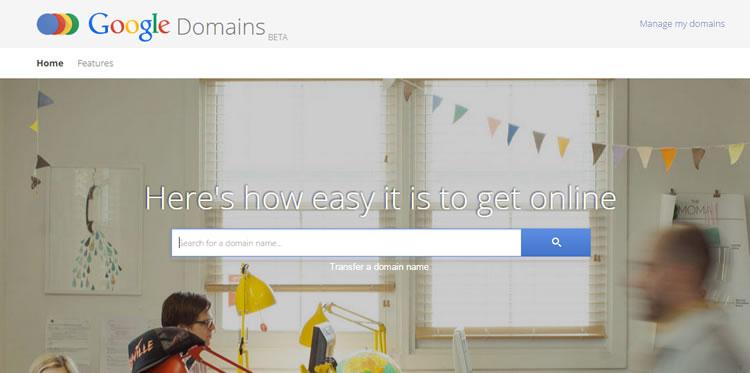 domaine google