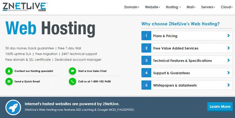 znetlive hosting