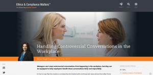 Navex Globalはブログで非常に有用な職場アドバイスを共有しています。