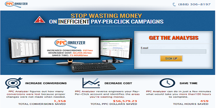ppc analyzer landing