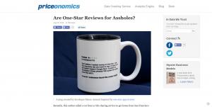 Priceonomics использует юмор и легкомыслие в своем блоге.