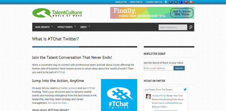 tchat twitter chat