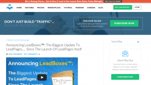 LeadBoxes makes it easy to insert double opt-in forms into any blog post.